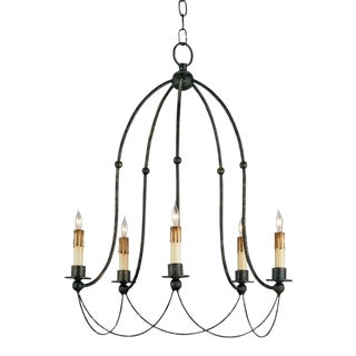 Currey & Company Derrymore Chandelier For Sale