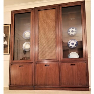 Mount Airy Furniture for John Stuart 1960's Modern China Cabinet Preview
