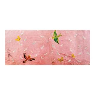 Paule Marrot, Feathers, Large, Unframed Artwork For Sale