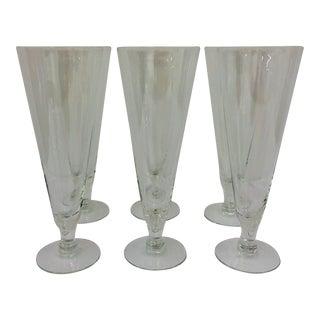 Vintage Pilsner Glasses For Sale
