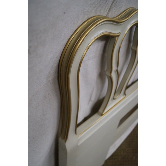 Drexel Vintage French Louis XV Style Headboard - Image 4 of 10