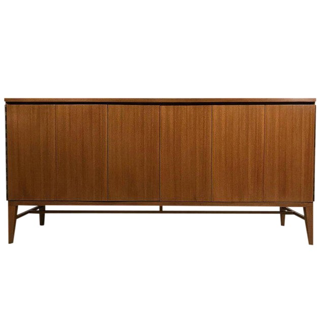 Paul McCobb Calvin Group Tri-Fold Bleached Mahogany Eight-Drawer Dresser For Sale