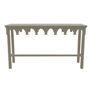 Oomph Ocean Drive Outdoor Console Table, Taupe For Sale