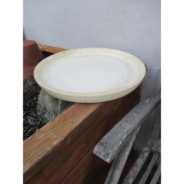 Vintage Ceramic Planter Drip Saucer - Image 3 of 8