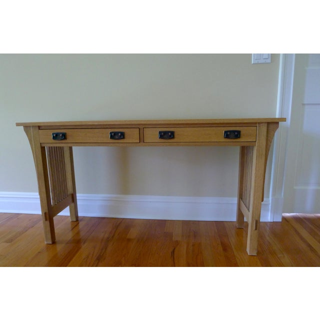 Stickley Stickley Mission Sofa Table For Sale - Image 4 of 4