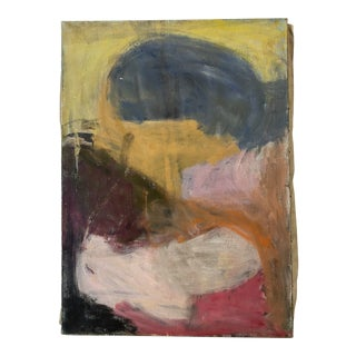1960s Abstract Sachiko Asano Painting For Sale