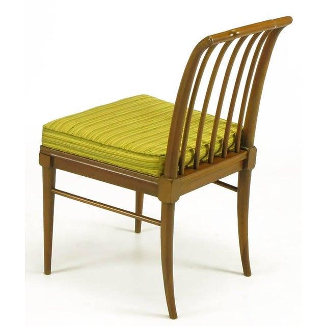 1950s Six J. Stuart Clingman Dining Chairs by John Widdicomb For Sale - Image 5 of 11