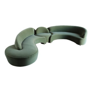 "Vladimir Kagan ""Comete"" Sofa for Roche Bobois, 2003 - Set of 3 For Sale"