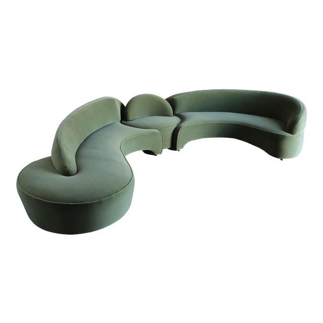 "Vladimir Kagan ""Comete"" Sofa for Roche Bobois, 2003 - Set of 3 For Sale"