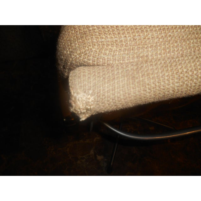 Vintage Herman Miller Padded Swivel Lounge Chair For Sale - Image 9 of 10