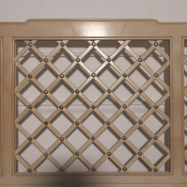 Henredon Henredon Lattice Canopy Bed For Sale - Image 4 of 13