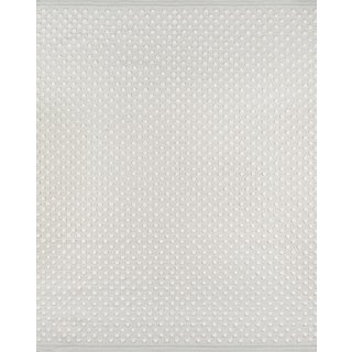 Erin Gates by Momeni Langdon Windsor Grey Hand Woven Wool Area Rug - 8′6″ × 11′6″ For Sale