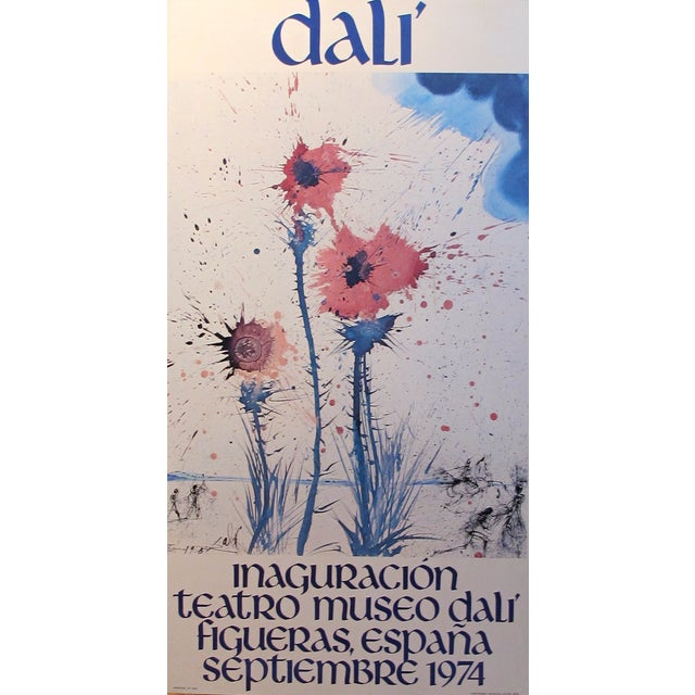 Original 1974 Dali Exhibition Poster - Image 2 of 2