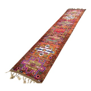 "Vintage Herki Runner Rug -- 2'11"" x 14'5"" For Sale"