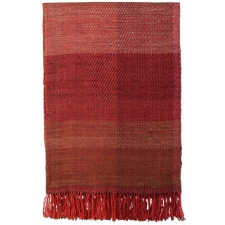 Indian Handwoven Throw Hand Peddle For Sale