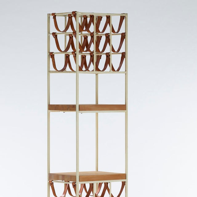 Mid-Century Modern 1950s Vintage Arthur Umanoff for Shaver Howard and Raymor Wine Rack For Sale - Image 3 of 7