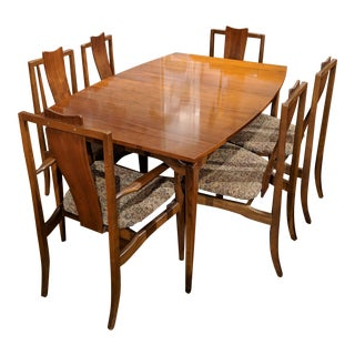 Vintage Young Furniture Dining Set- 7 Pieces For Sale