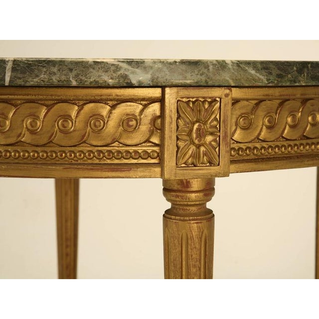 French Louis XVI Style Coffee Table For Sale - Image 9 of 10