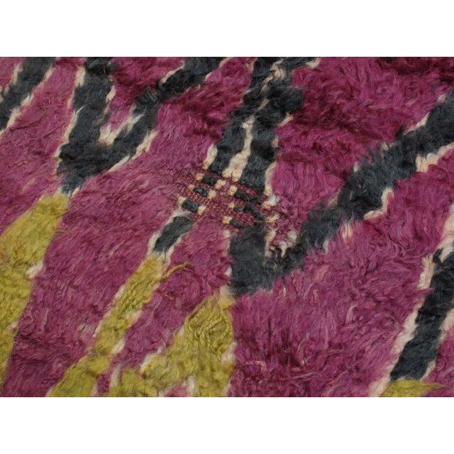 Ait Bou Ichaouen Moroccan Berber Carpet For Sale - Image 9 of 10