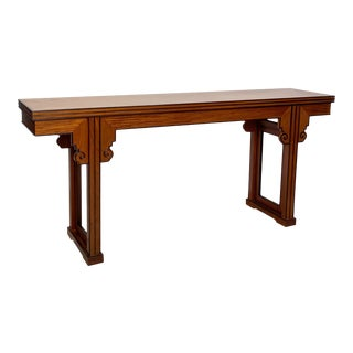 Rare Vintage McGuire Altar Table, China Circa 20th Century For Sale