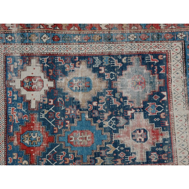 "Leon Banilivi Antique Shirvan Rug - 5'2"" X 3'9"" - Image 4 of 5"