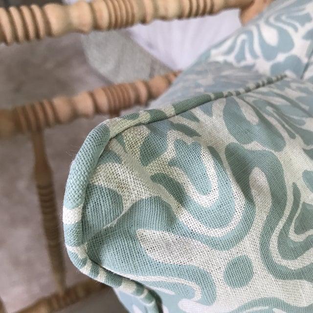 Galbraith & Paul Linen Pillows - A Pair For Sale - Image 5 of 6