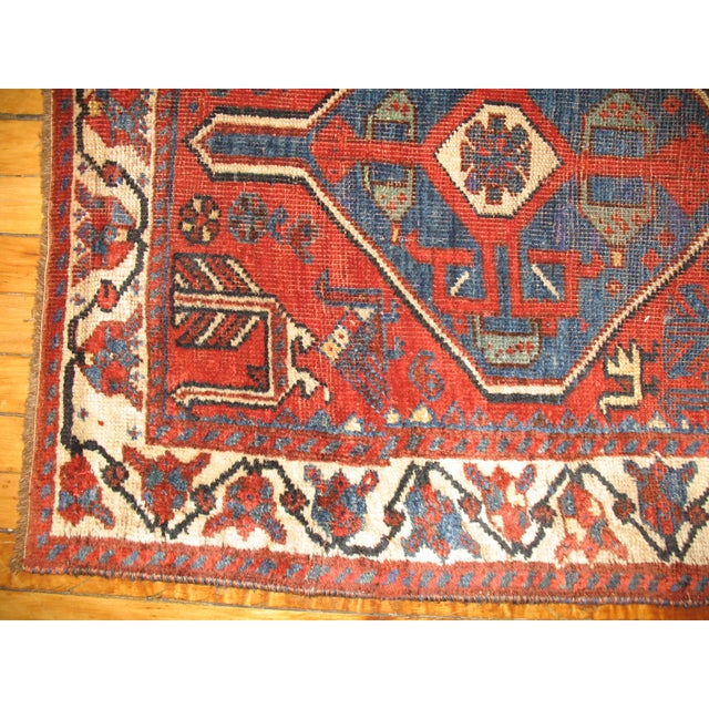 Tribal Persian Rug -- 2'8'' X 4'5'' - Image 3 of 3