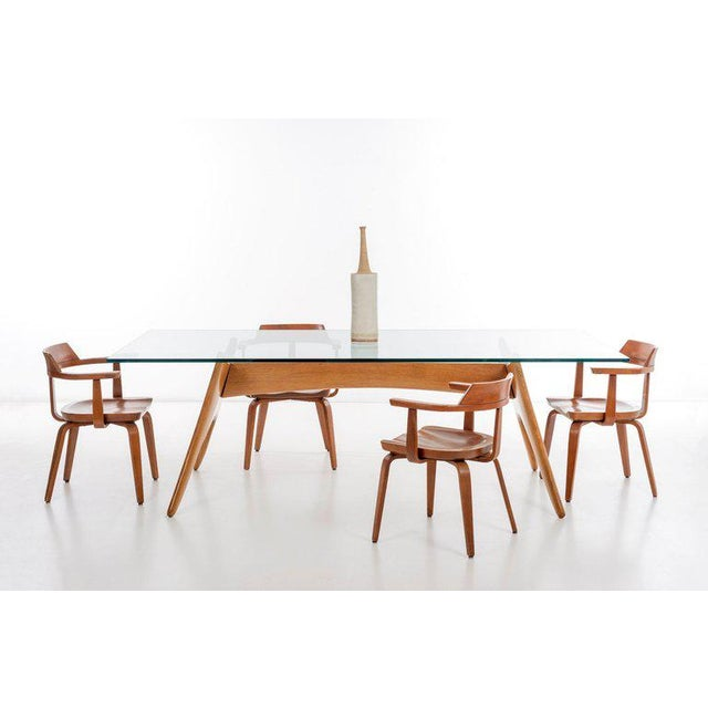 1970's California Craft Dining Table For Sale In New York - Image 6 of 10