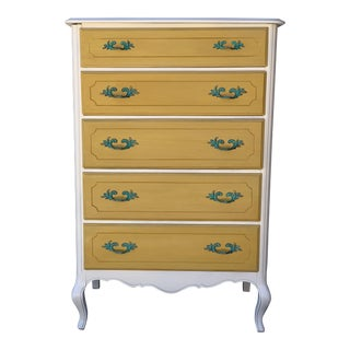 1930's French Country Chest of Drawers For Sale