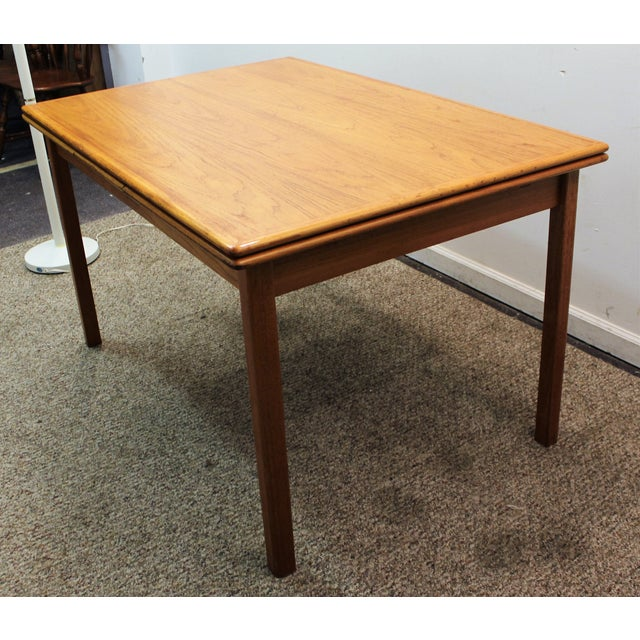 Mid-Century Danish Modern Teak Dining Table - Image 4 of 10