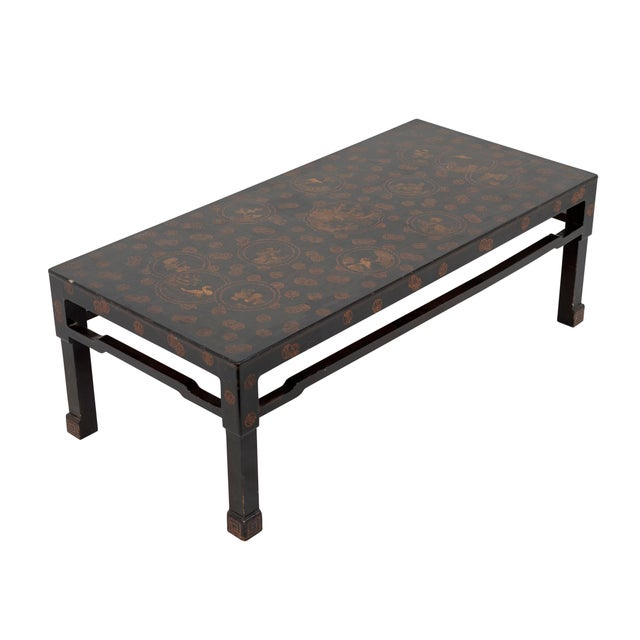 Chinese Early 20th Century Chinese Lacquer Coffee Table For Sale - Image 3 of 7