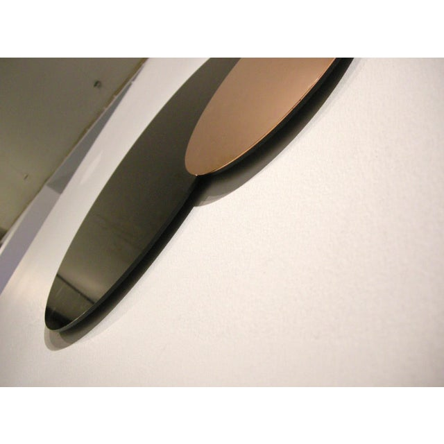 Contemporary Circle Constructivist Mirror by Nina Cho For Sale - Image 3 of 4