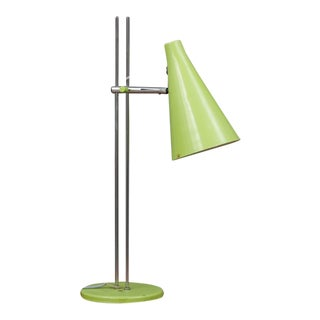 Josef Hurka Lidokov L194 Green Desk Lamp