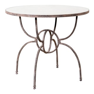 Orb Iron Base Table For Sale