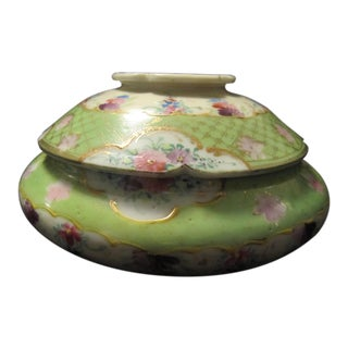 Antique Chinese Jar With Lid For Sale