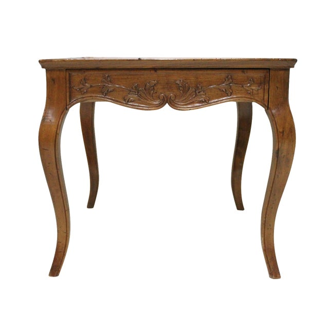 Carved Italian Side Table - Image 1 of 3