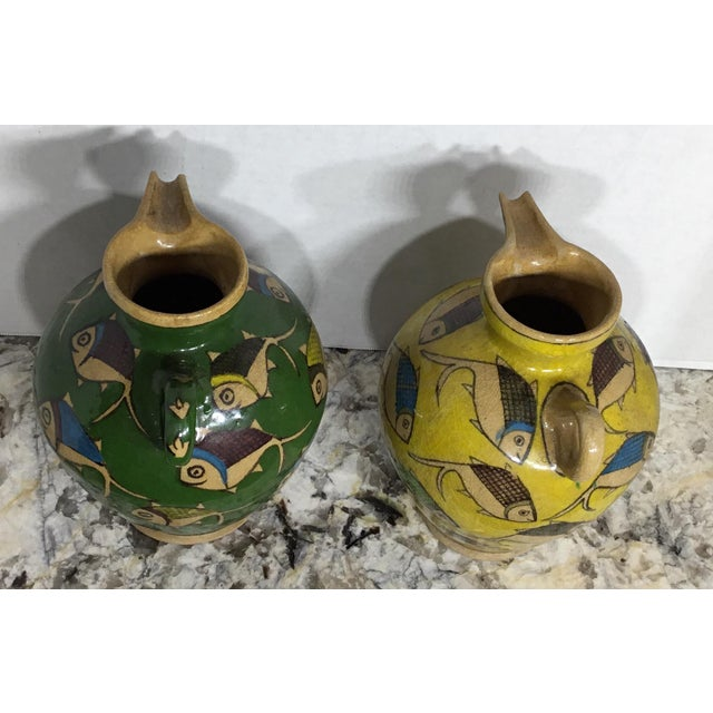 Vintage Persian Ceramic Vessels - A Pair - Image 6 of 11