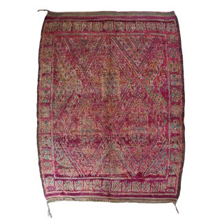 Vintage Moroccan Talsint Rug For Sale