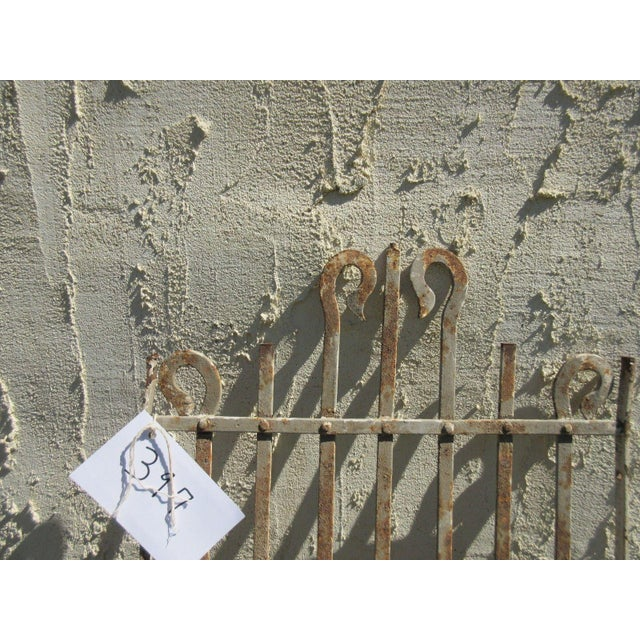 Antique Victorian Iron Gate Salvage For Sale - Image 5 of 6