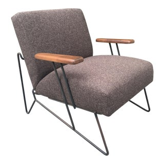 Mid Century Modern Iron Side Chair