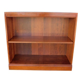 "Stickley Cherry Open Bookcase Display Wall Cabinet Model 4312 ""B"" For Sale"