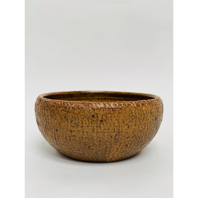 George Scatchard Mid Century Modern Studio Pottery Bowl For Sale - Image 10 of 10