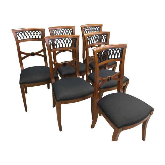 Century Furniture Capuan Biedermeier Chairs - Image 1 of 5