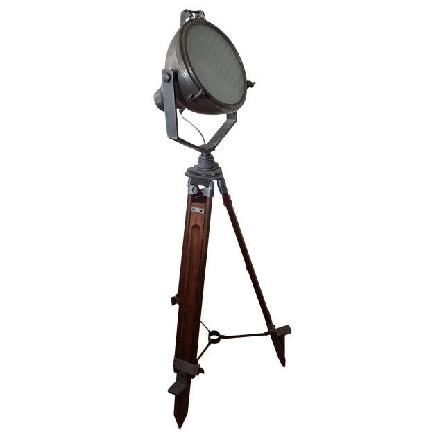 Pottery Barn Surveyor Spotlight Lamp - Image 1 of 4