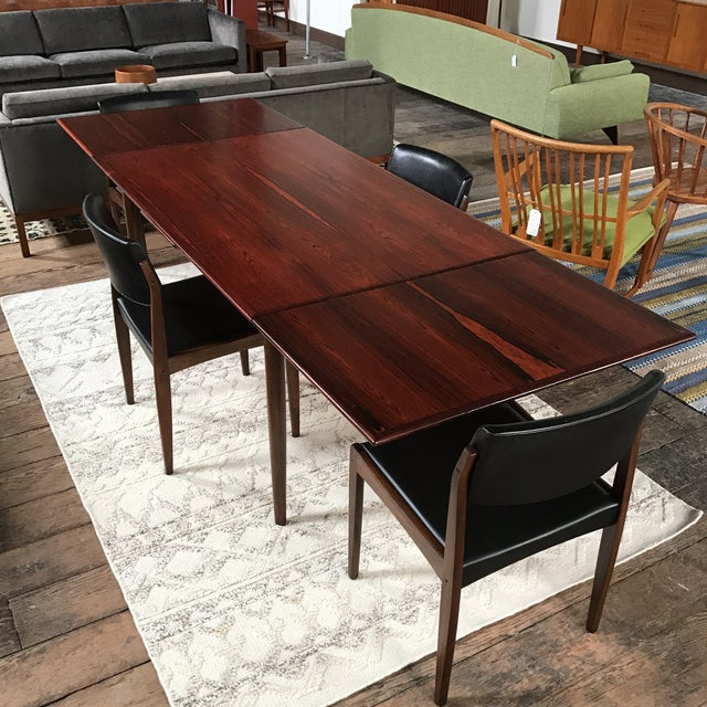 H. W. Klein for Bramin Danish Rosewood Dining Set - Set of 5 - Image 4 of 11