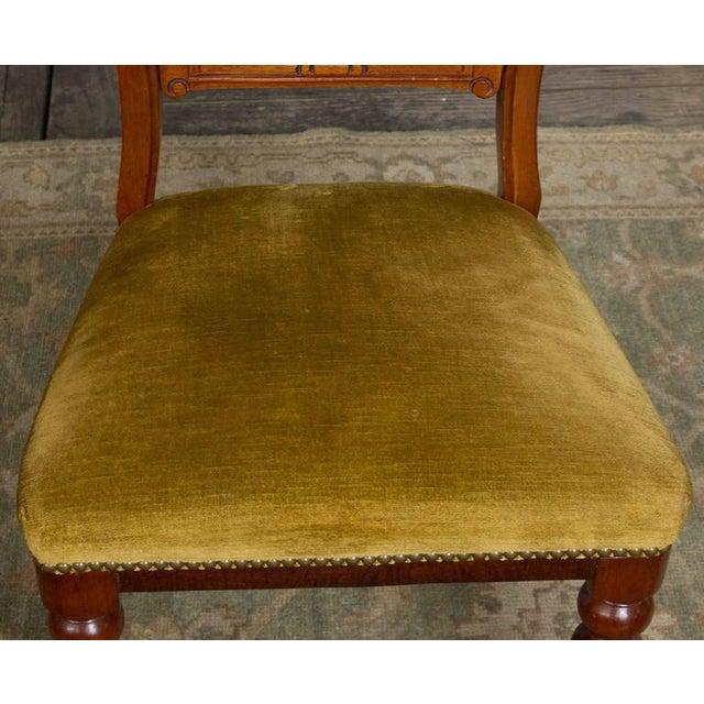 Single Mahogany Side Chair, William IV English - Image 8 of 11