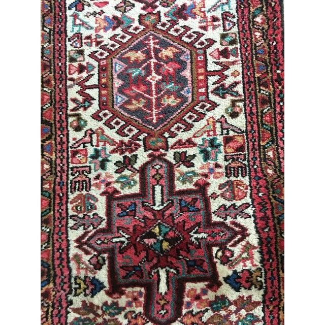 Authentic Handwoven Persian Runner Rug - Image 3 of 3