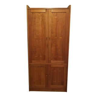 Stickley Cherry Wood Armoire For Sale