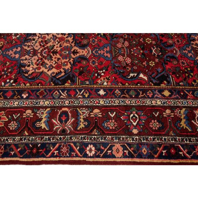 "Apadana - Antique Bakhtiari Rug, 10'6"" X 13'5"" For Sale - Image 9 of 10"