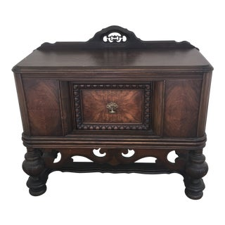 1960s Arts and Crafts Mahogany Chest/Console For Sale